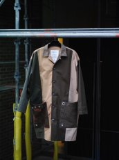 画像11: VARDE77 -makeover- MILITARY MIX COAT (11)