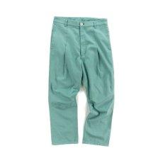 画像1: VARDE77 LONG TAC CHINO PANTS LIME (1)