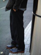 画像9: VARDE77 EASY WIDE TRACK PANTS BLACK (9)