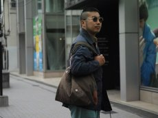 画像7: VARDE77 -MAKEOVER- MILITARY MIX SHOPPING BAG (7)