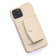 画像1: BIRTH POCHE Demiurvo i-PHONE CASE BEIGE (1)