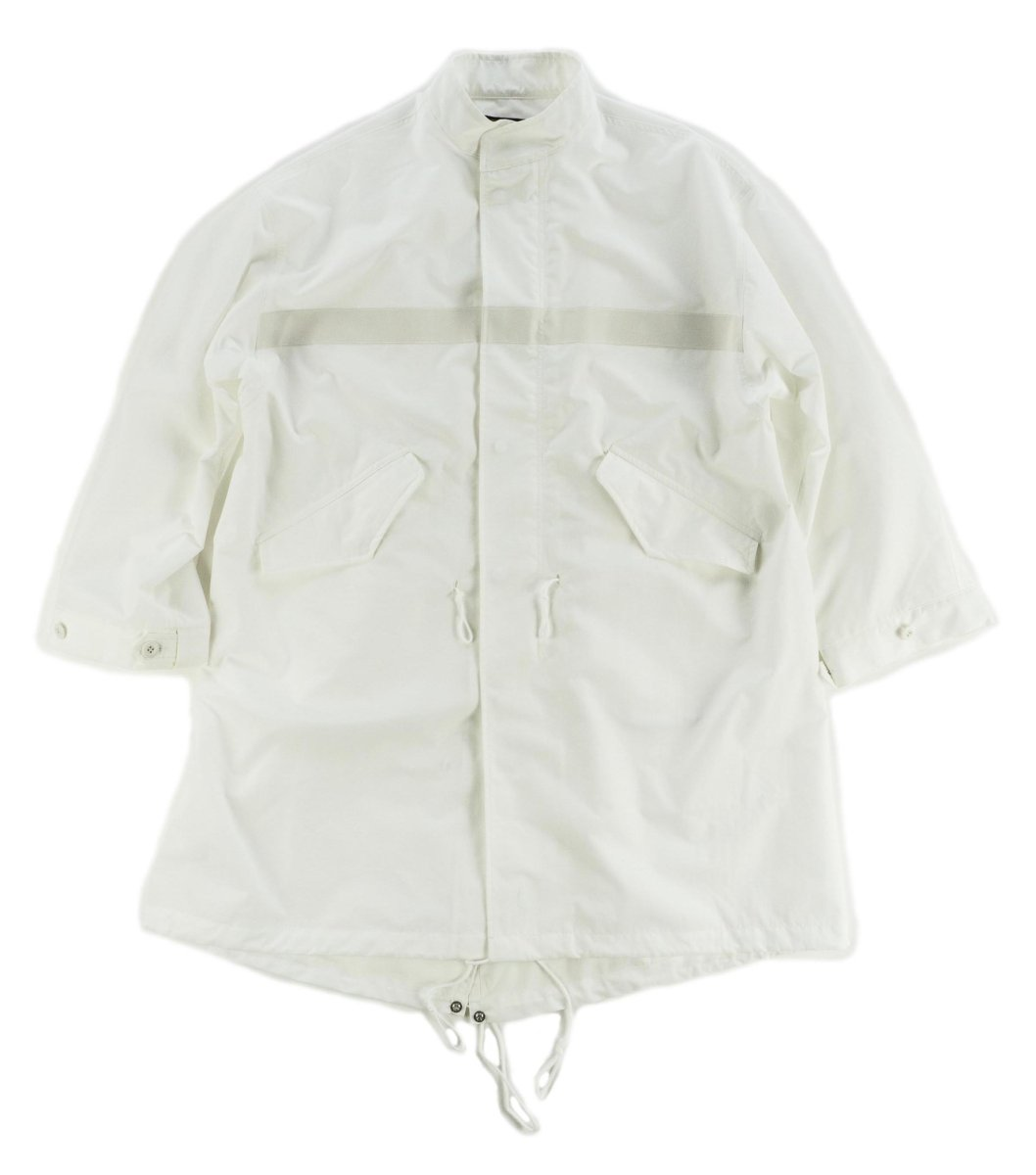 画像1: VARDE77  KUDOS 51 REFLECT COAT WHITE (1)