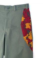 画像2: AKI LACE FABLIC PANTS (2)
