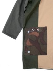 画像6: VARDE77 -makeover- MILITARY MIX COAT (6)