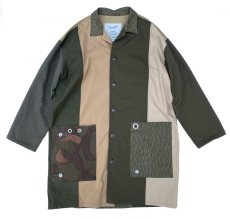 画像1: VARDE77 -makeover- MILITARY MIX COAT (1)