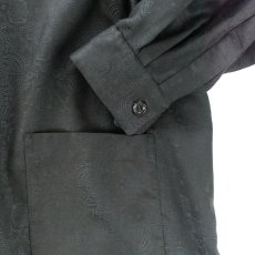 画像6: VARDE77 BANDANA JACQUARD SHIRTS BLACK (6)