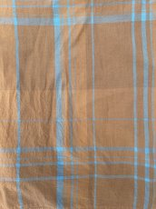 画像4: ts(s) Large Plaid Cotton*Wool Cloth Stole BROWN (4)