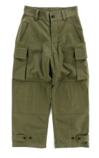 画像1: VARDE77 FRENCH ARMY M-47 TROUSERS OLIVE (1)
