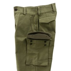 画像7: VARDE77 FRENCH ARMY M-47 TROUSERS OLIVE (7)