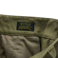 画像10: VARDE77 FRENCH ARMY M-47 TROUSERS OLIVE (10)