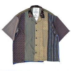画像1: VARDE77 -MAKEOVER- VINTAGE SCARF SHORT SLEEVE SHIRTS TYPE:C (1)