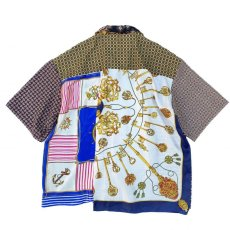 画像8: VARDE77 -MAKEOVER- VINTAGE SCARF SHORT SLEEVE SHIRTS TYPE:C (8)