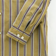 画像4: VARDE77 STRIPE LONG SHIRTS	 BROWN (4)