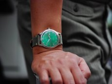 画像9: ARISTO AOUTOMATIC WATCH GREEN (9)