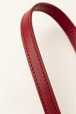画像6: Demiurvo SAFFIANO STRAP red (6)