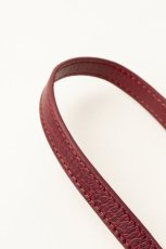 画像6: Demiurvo CROCO STRAP wine red (6)