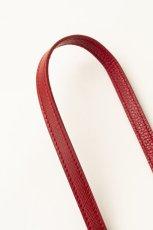 画像4: Demiurvo SAFFIANO STRAP red (4)