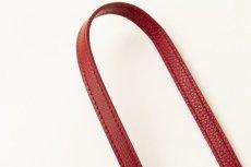 画像5: Demiurvo SAFFIANO STRAP red (5)