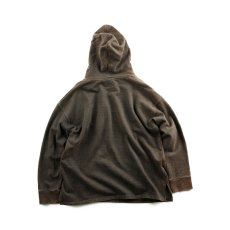 画像5: VARDE77 FADED SWEAT PARKA CHARCOAL BROWN  (5)