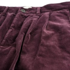 画像3: VARDE77 2TAC CORDUROY PANTS WINE RED (3)