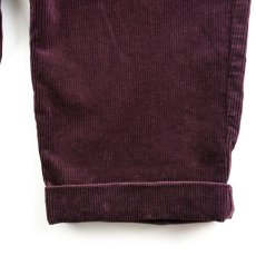 画像4: VARDE77 2TAC CORDUROY PANTS WINE RED (4)