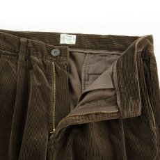 画像4: VARDE77 2TAC CORDUROY PANTS BROWN (4)