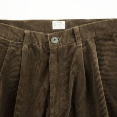 画像2: VARDE77 2TAC CORDUROY PANTS BROWN (2)
