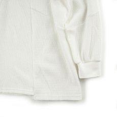 画像3: VARDE77 UNION THERMAL CUTSEW WHITE (3)