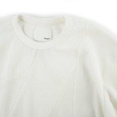 画像2: VARDE77 UNION THERMAL CUTSEW WHITE (2)