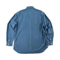画像6: VARDE77 EYE SOLID FLANNEL SHIRTS BLUE (6)