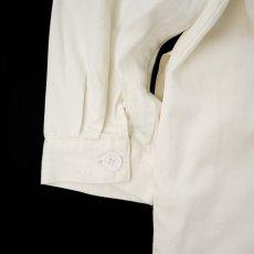 画像7: WHITE&WHITE DOCTOR COAT (7)