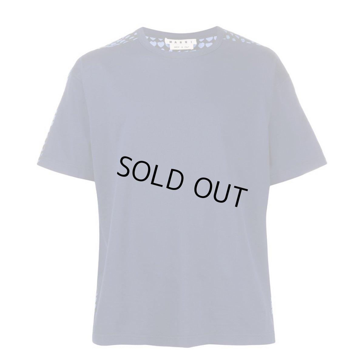 画像1: M A R N I HEART PRINT Tshirt (1)