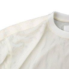 画像2: THE SOURCE MESH TRANING T-SHIRTS WHITE (2)