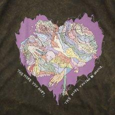 画像2: JUNKIE HEART DYED T-SHIRTS BROWN (2)