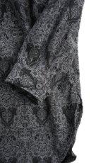 画像3: DOUBLE NECK LONG JACQUARD SHIRTS (3)