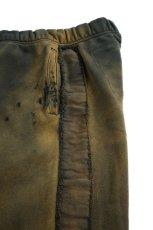 """画像7: """"劣化"""" LINE SWEAT PANTS (7)"""