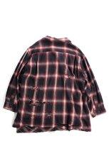 """画像6: """"傷だらけ"""" ネルシャツ OMBRE (6)"""