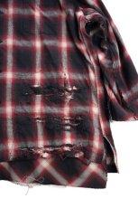 """画像3: """"傷だらけ"""" ネルシャツ OMBRE (3)"""