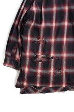 """画像4: """"傷だらけ"""" ネルシャツ OMBRE (4)"""