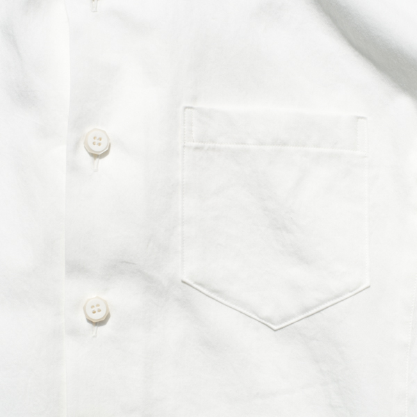 画像2: Mechanic work shirts White