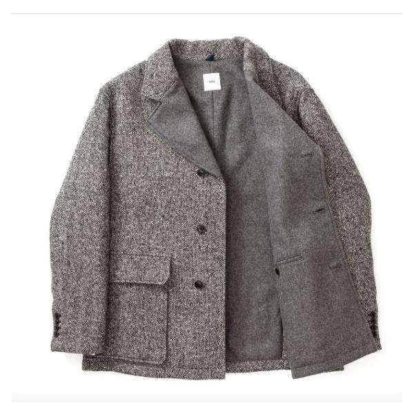 画像1: ts(s)  Wool Melton Lined 3 Button Jacket