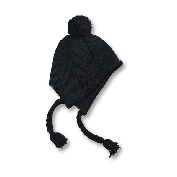 画像2: Crew kneck mohair knit  BLACK