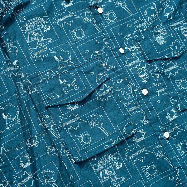 画像2: フェイ・エリー シャツ BLUE