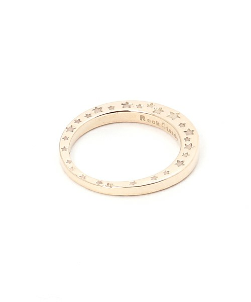 画像1: RSW SIDE STAR RING 10GOLD (1)