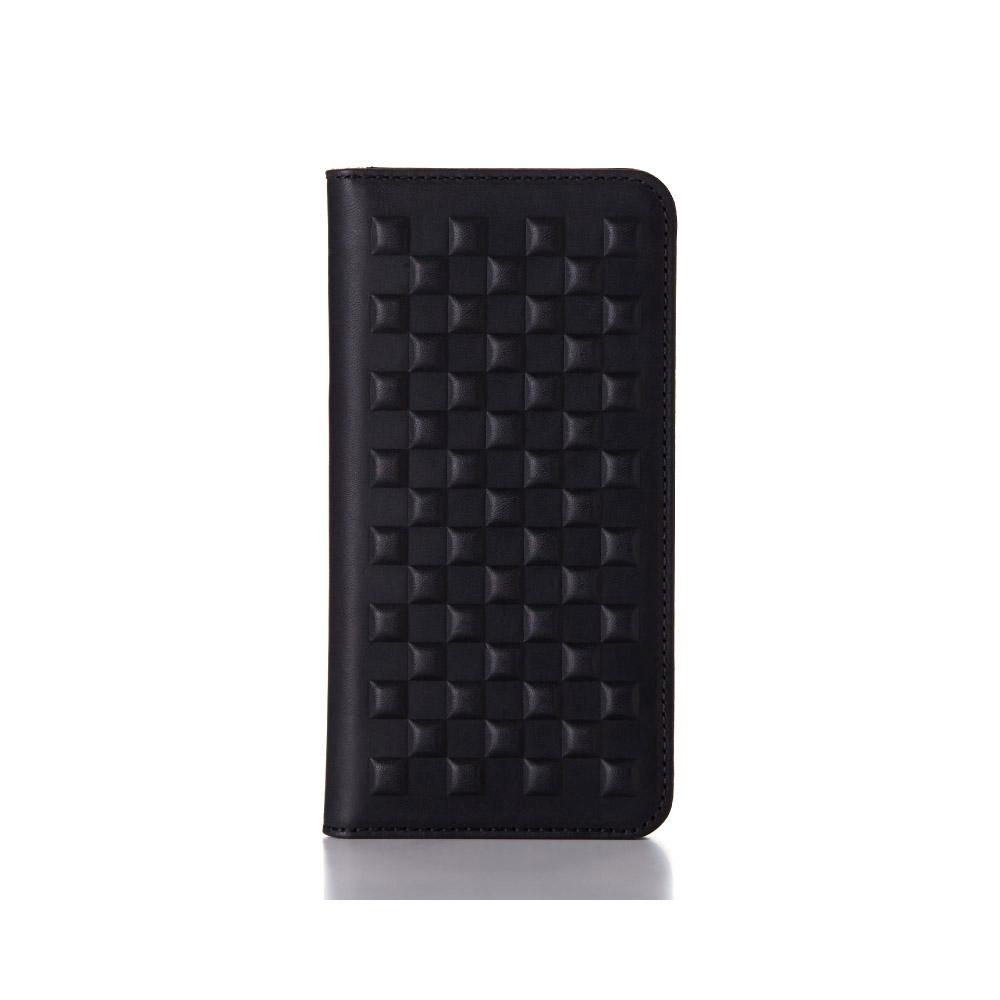 画像1: Demiurvo i-PHONE CASE 『PEBBLY』black (1)