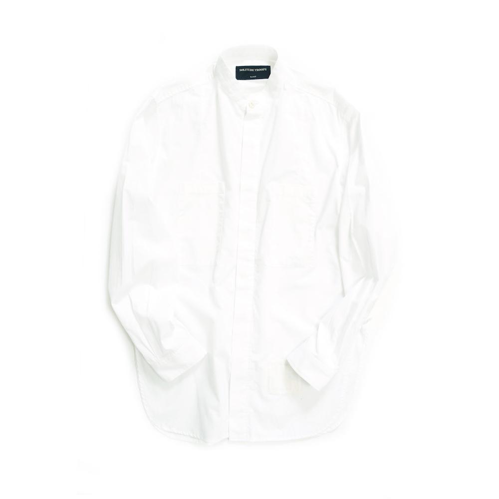 画像1: EDGE SERVICE SHIRTS WHITE