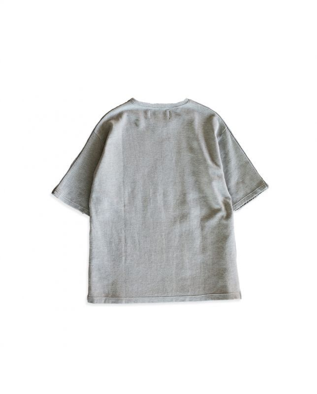 画像2: QUILTING T-SHIRTS GRAY