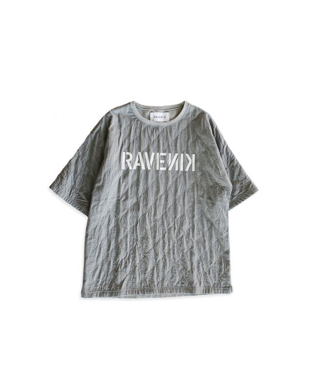画像1: QUILTING T-SHIRTS GRAY