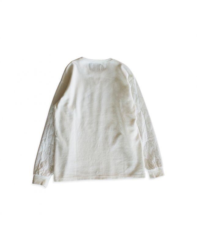画像2: QUILTING LONG T-SHIRTS WHITE