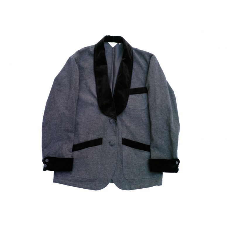 画像1: SMOKING JACKET GRAY